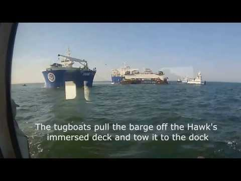 Lay Barge Video