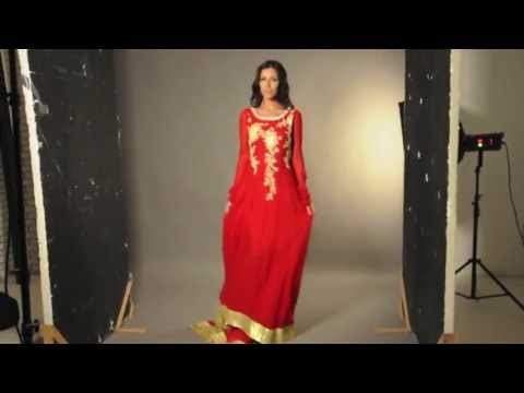 Red Ladies Evening Dress for Spring/ Summer 2013 | Look Outstanding