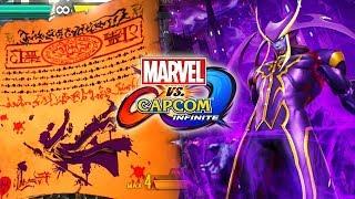 JEDAH BREAKDOWN - New Gameplay - Specials - Supers: Marvel Vs. Capcom Infinite