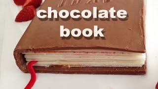 How to make a Chocolate Book HOW TO COOK THAT Ann Reardon