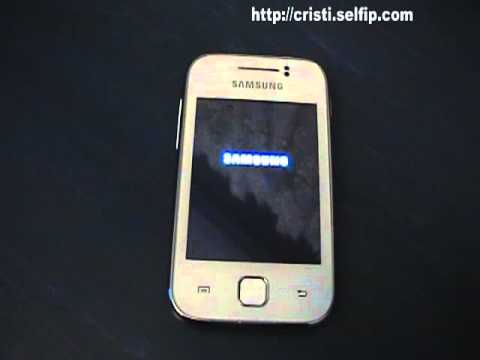 Samsung Galaxy Y boot failed
