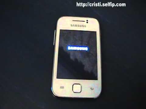Samsung Galaxy Y boot failed