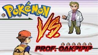 The Battle Against Professor Oak Pok Mon Fire Red