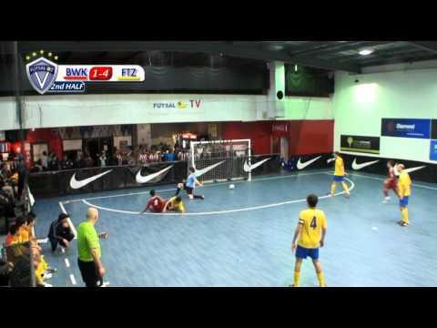 Brunswick vs Fitzroy, (Men's V-League) Round 10, 2013 Season, Futsal Oz: NIKE V-League Premiership
