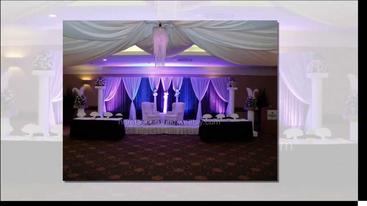 Wedding backdrops how to design elegant wedding for Decorate pictures