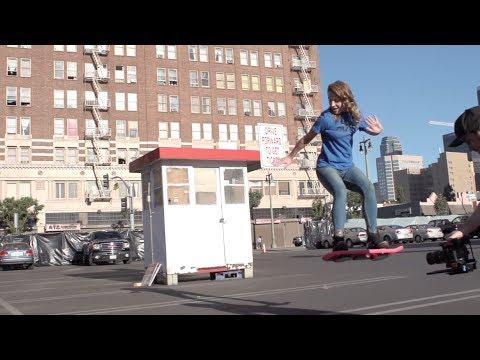 Ritorno al Futuro: lo Skateboard Volante Diventa Realtà!