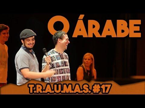 T.R.A.U.M.A.S. #17 - O ÁRABE EM PARIS (Rio de Janeiro, RJ) Vídeos de zueiras e brincadeiras: zuera, video clips, brincadeiras, pegadinhas, lançamentos, vídeos, sustos