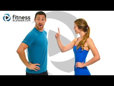 Day 1: Fitness Blender's Free 5 Day Workout Challenge for Busy People