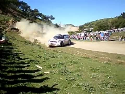 WRC PORTUGAL 2013 - saida de Michal Kosciuszko em Santana da Serra
