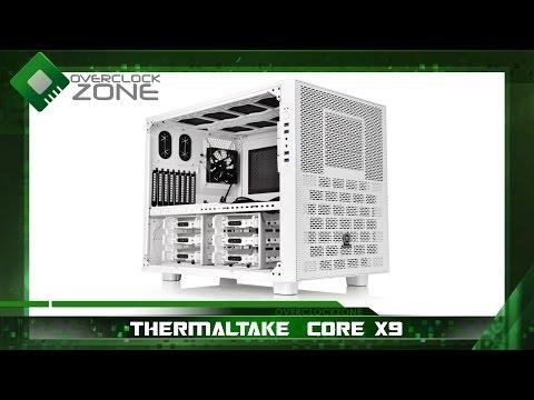 Thermaltake Core X9 Snow Edition : By OverclockzoneTV#2 EP.68