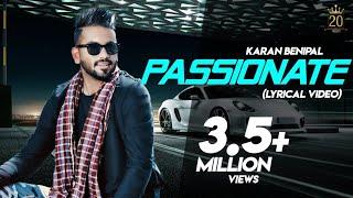 Passionate   Karan Benipal   Latest Punjabi Songs 2018   20 Music