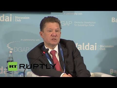 LIVE: Gazprom chairman Miller speaks at Berlin conference on energy security (English Translation)