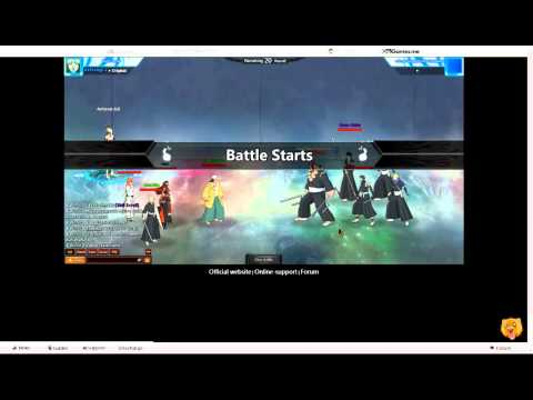 Fights In Bleach Online Game! video