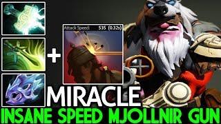 Miracle- [Sniper] Insane Speed Mjollnir Gun 3 Hit/Sec WTF Plays 7.22 Dota 2