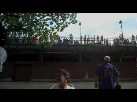 Cubs Alfonso Soriano HR to Waveland Avenue 5/28/12  BALLHAWKCAM