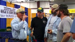 Learn how to find gold at a Gold and Treasure Expo