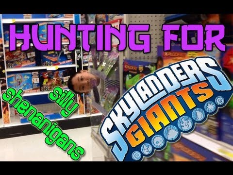 Hunting for Skylanders Giants: Silly Shenanigans  - Part 51