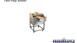T Freematle Ltd - Two Flap Sealer and Optional Coder and Kick Off