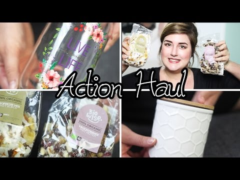 ACTION HAUL | Ernährung. Deko. Hautpflege.