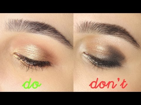 EYESHADOW DO'S & DON'TS 2016   Tips And Tricks For Beginners + Hooded Eyes