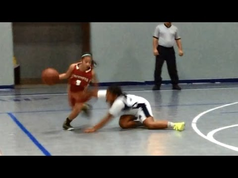 Basketball Prodigy: Ten Year Old Little Girl Is Breaking Ankles With Awesome Handles [Video]