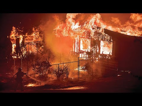 "What they won't tell you about the so called ""wildfires"" in northern California. I believe these fires were a direct result of a technology called directed energy weaponry and you can tell..."