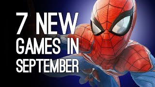 7 New Games Out in September 2018 for PS4, Xbox One, PC, Switch