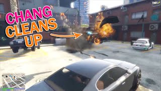 CHANG GANG TAKE OUT KOREANS, KEANU REEVES SELFIE | GTA 5 RP NoPixel Funny Moments/Highlights 69