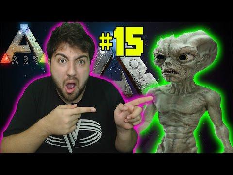 Uçan Dinozorlarla Uzaylıların Mekanını Basıyoruz - Ark Survival Evolved Türkçe 15#