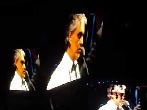 Andrea Bocelli con Yuri Arena Ciudad de Mexico
