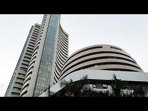 Sensex plunges over 200 points, Rupee slips by 16 paise
