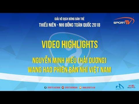 Nguyễn Minh Hiếu Hải Dương  Wang Hao Phiên Bản Nhí Việt Nam