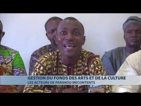 Les acteurs des arts et culture de Parakou manifestent leur mécontentement face à la gestion du FAC