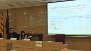 Presentació de l'àmbit educatiu en el sistema penitenciari de cada país. Fatih Dermici