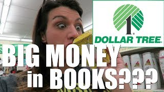 Retail Arbitrage at Dollar Tree | BIG MONEY in BOOKS??? | Treat Yourself Time!
