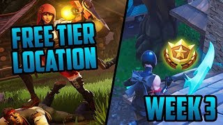 Season 6, Week 3 | *SECRET* Battle Star Location! (Free Tier) - Fortnite