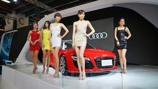 台北車展model祝大家新年快樂
