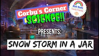 Snow Storm in a Jar? ❄️ Super Cool SCIENCE Experiments for KIDS!