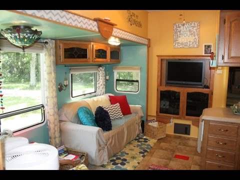 Full Time Rv Family Of Six Camper Renovation No Muck E01