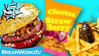 5 Weird Foods People Eat Every Day | 5 FACTS
