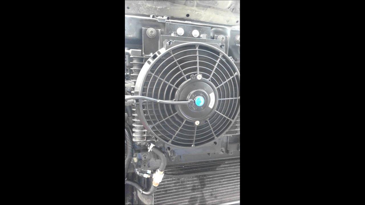 Transmission Cooler Fan On Nissan Xterra Youtube