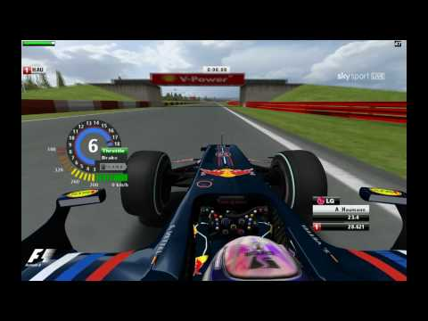No driving aids used Game: rFactor Mod: FSONE 2009 SP (SP: