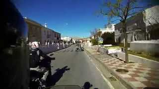 Yamaha FJ-09, MT-09 Tracer first ride, easy rider, GoPro Hero, helmet