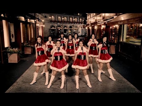 E-girls   Mr.snowman ~snow Dance~ (dance Video Clip) video