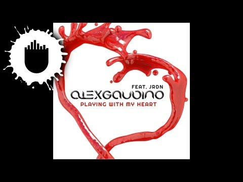 Alex Gaudino feat. JRDN – Playing With My Heart (Cover Art)