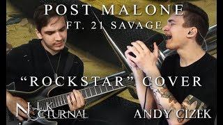 """download lagu Post Malone """"rockstar"""" Metal Cover Andy Cizek & Nik gratis"""