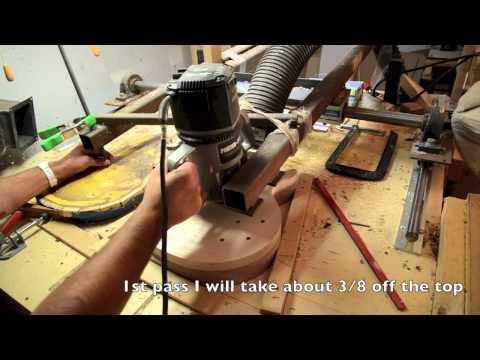 Building a Les Paul Guitar body Luthier building process 59 copy