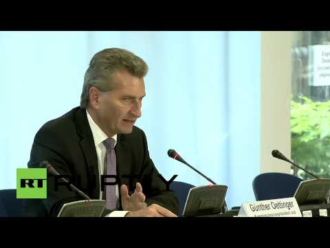 Germany: Ukraine to get 'secure gas supplies this winter' - Oettinger