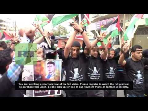 State of Palestine: Marathon runners stand up for Palestinian prisoners