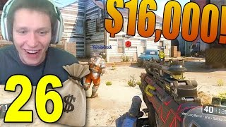 Black Ops 3 Money Wagers! - Part 26 - HE MADE $16k?! (UMG Wager Matches)